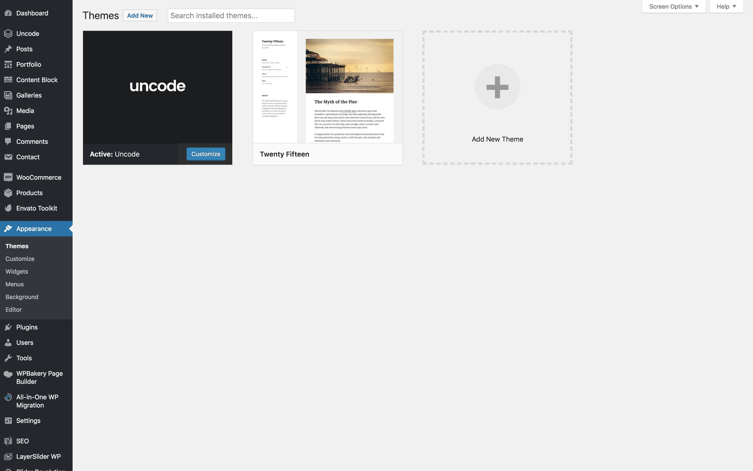 wordpress activate theme editor