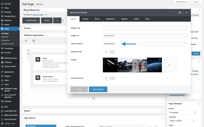 Masonry, Metro, and Justify layout modes – Uncode Theme ...