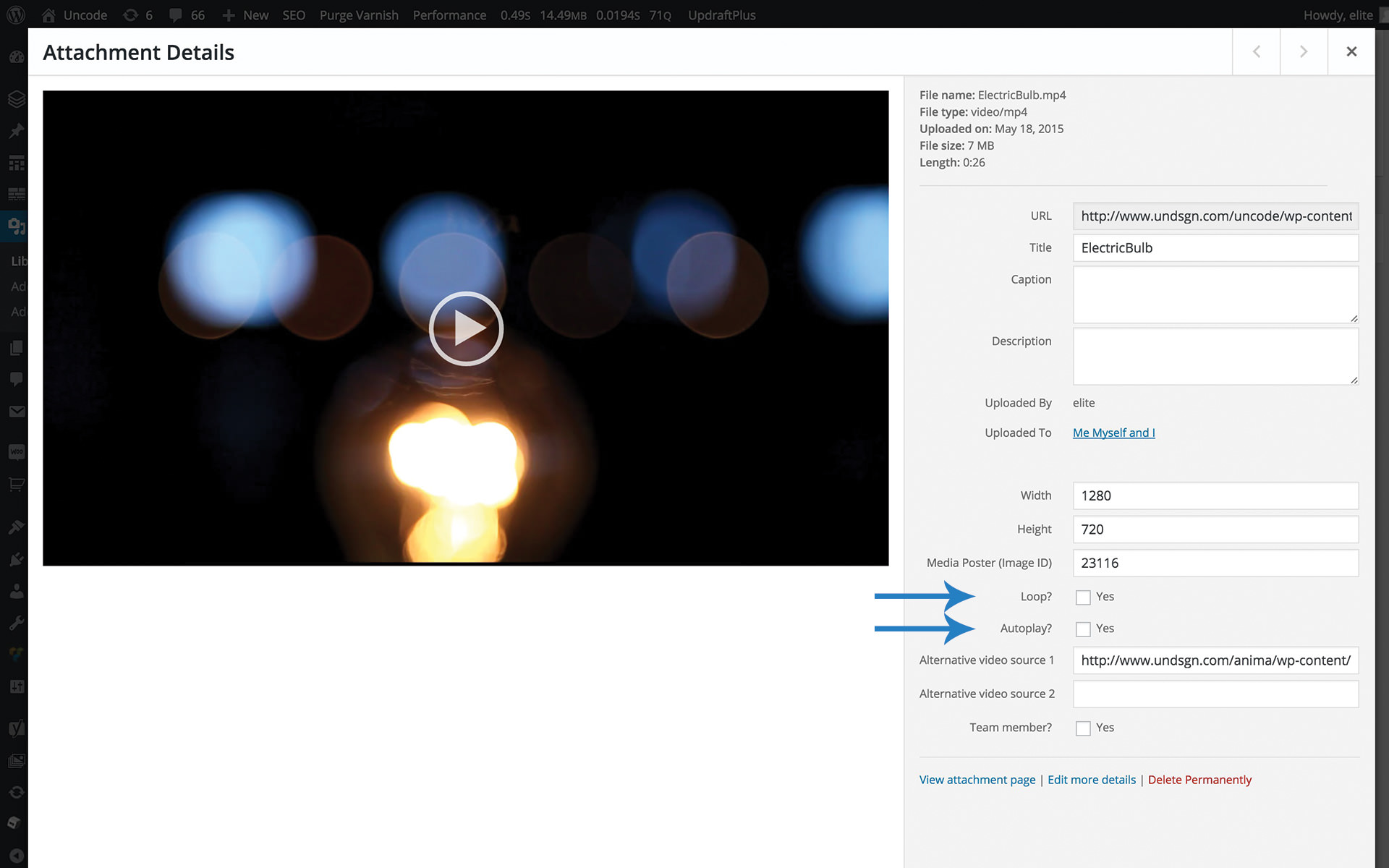 Video Options – Uncode Theme - Documentation and Help Center