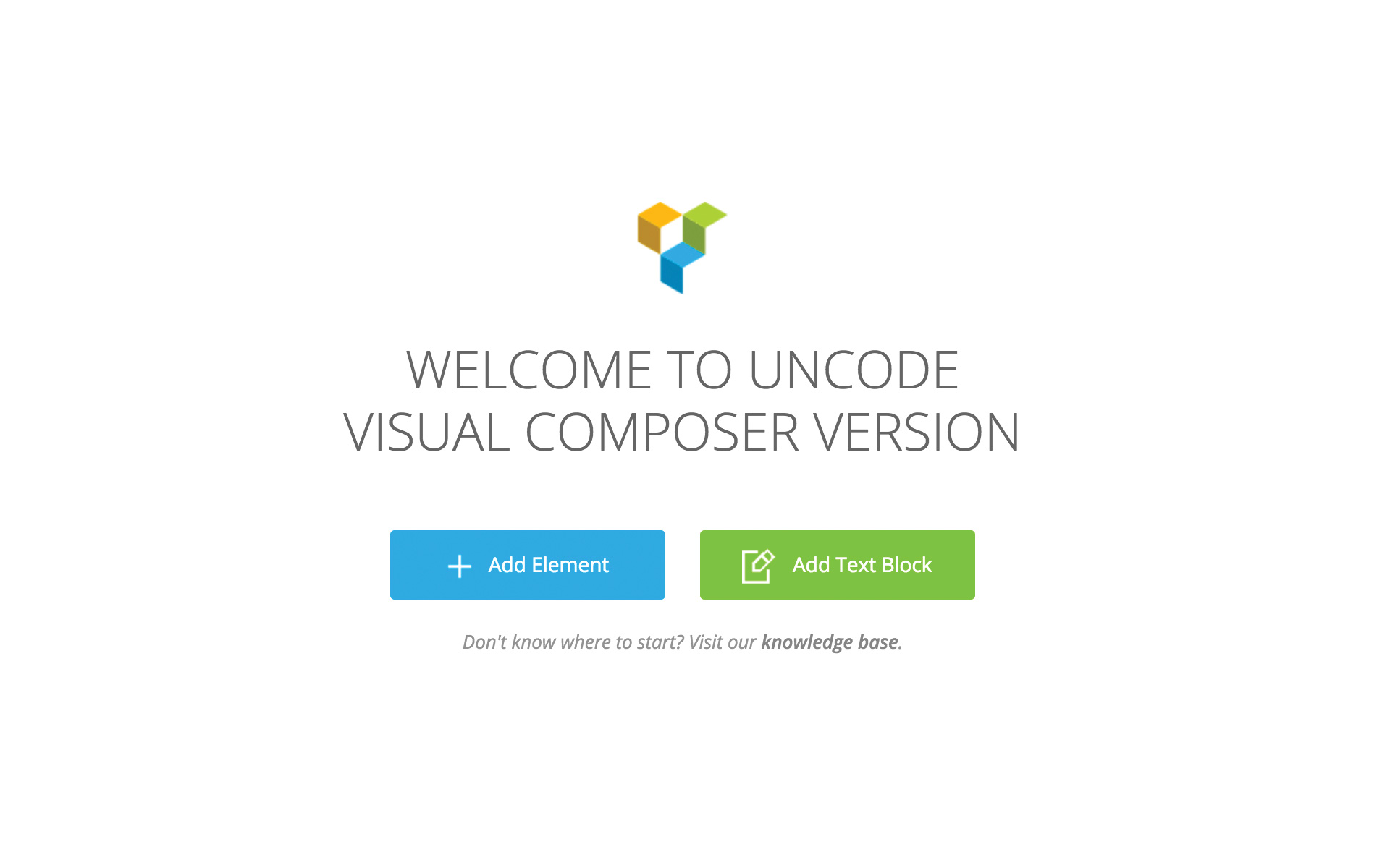 Page Builder General – Uncode Theme - Documentation and Help